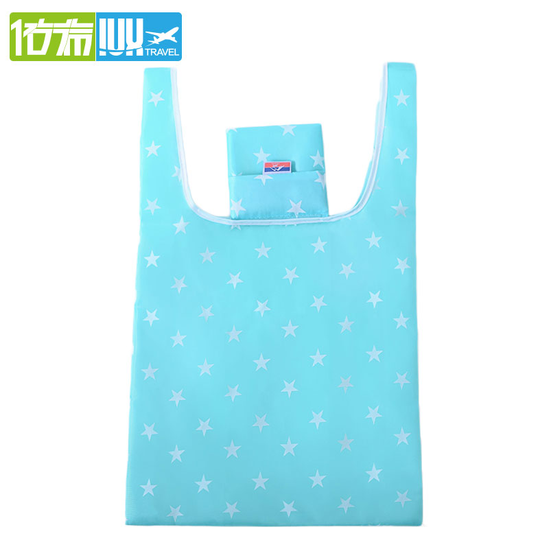 IUX 21 Styles Customizable Reusable Bags Candy Available Eco-friendly Reusable Folding Shopping Tote Bags Casual 2018 New