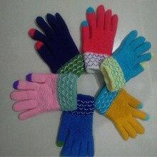 Free Shipping Girls Full Gloves Single 16 cm Length Children Gloves Children Wool Boys Winter Warm Winte Golves for Children