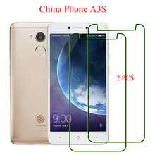 2PCS For China Phone A3S Screen Protector New Thin Front Films Explosion Proof Tempered Glass