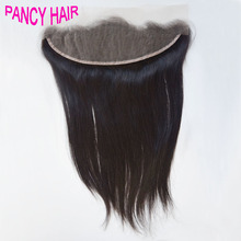 Brazilian Virgin Human Lace Frontal Closure Straight With Baby Hair pre plucked Full Frontal Lace Closure 13×4 Frontals