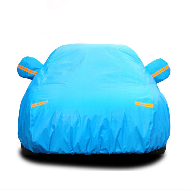 Four Seasons Prevent Bask Car Covers Exterior Accessories Car Styling Special Car Special Use Cotton Velvet Thicken Car Covers
