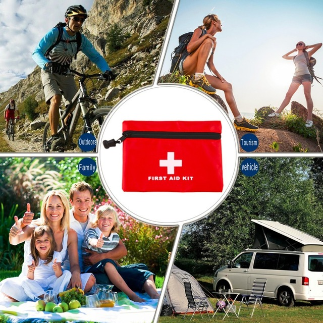 Waterproof Mini Outdoor Travel Car First Aid kit 10