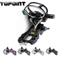 Bow and Arrow Archery Accessories TP4550 Archery 5 Pin Bow Sight Micro Adjust Hunting Compound Bow Sight