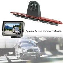 4.3 Inch Monitor Sony CCD Car Stop Light Reversing Camera for Sprinter Van