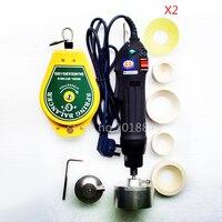 Новая ручная электрическая машина для укупорки пластиковых бутылок для 10 50 мм