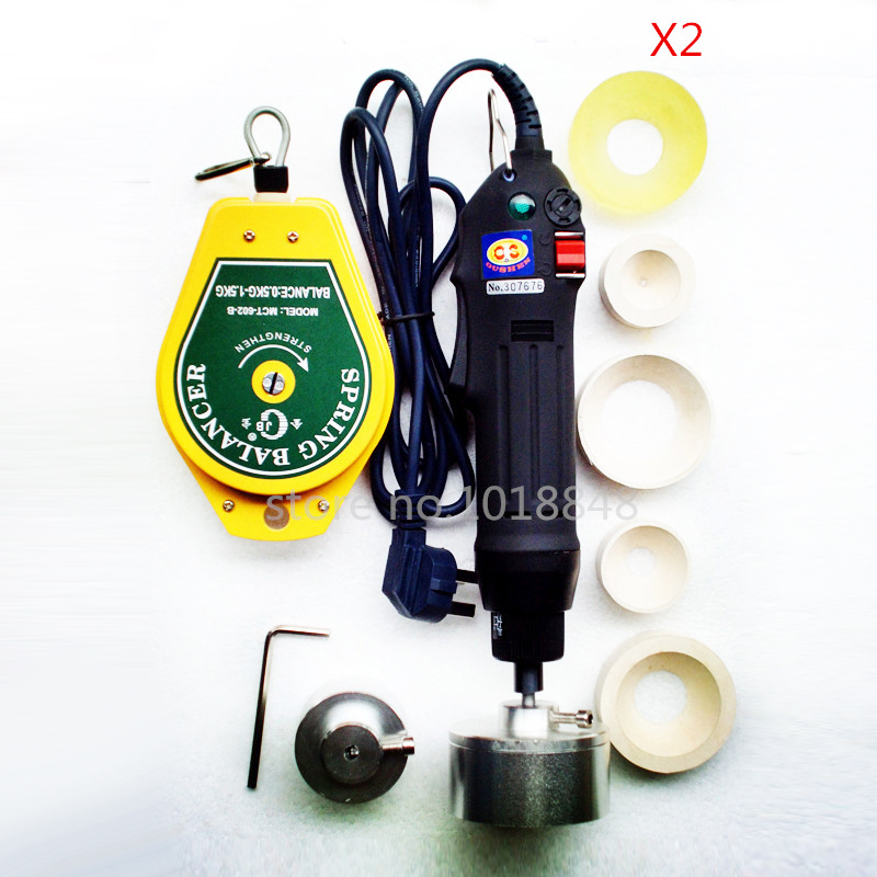 New Manual Electric Capping Machine Screw Capper Plastic Bottle Capping Machine for 10-50mm