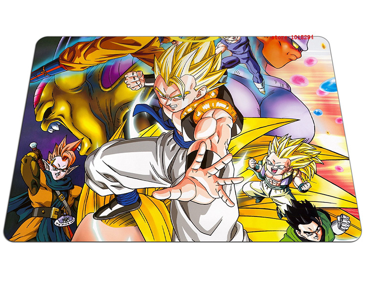 Dragon Ball mouse pad powerful Saiyan mousepad laptop Dragon Ball Z mouse pad gear notbook computer anime gaming mouse pad