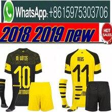 685ee6c96 LIVRE O Navio 18 19 homens PULISIC BVB Borussia Dortmund jérsei de futebol kit  2018 2019