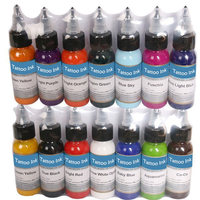 14Tattoo Ink Kit 14 Colors Tattoo Pigment Set 30ML Colorful Tattoo Ink Free Shipping