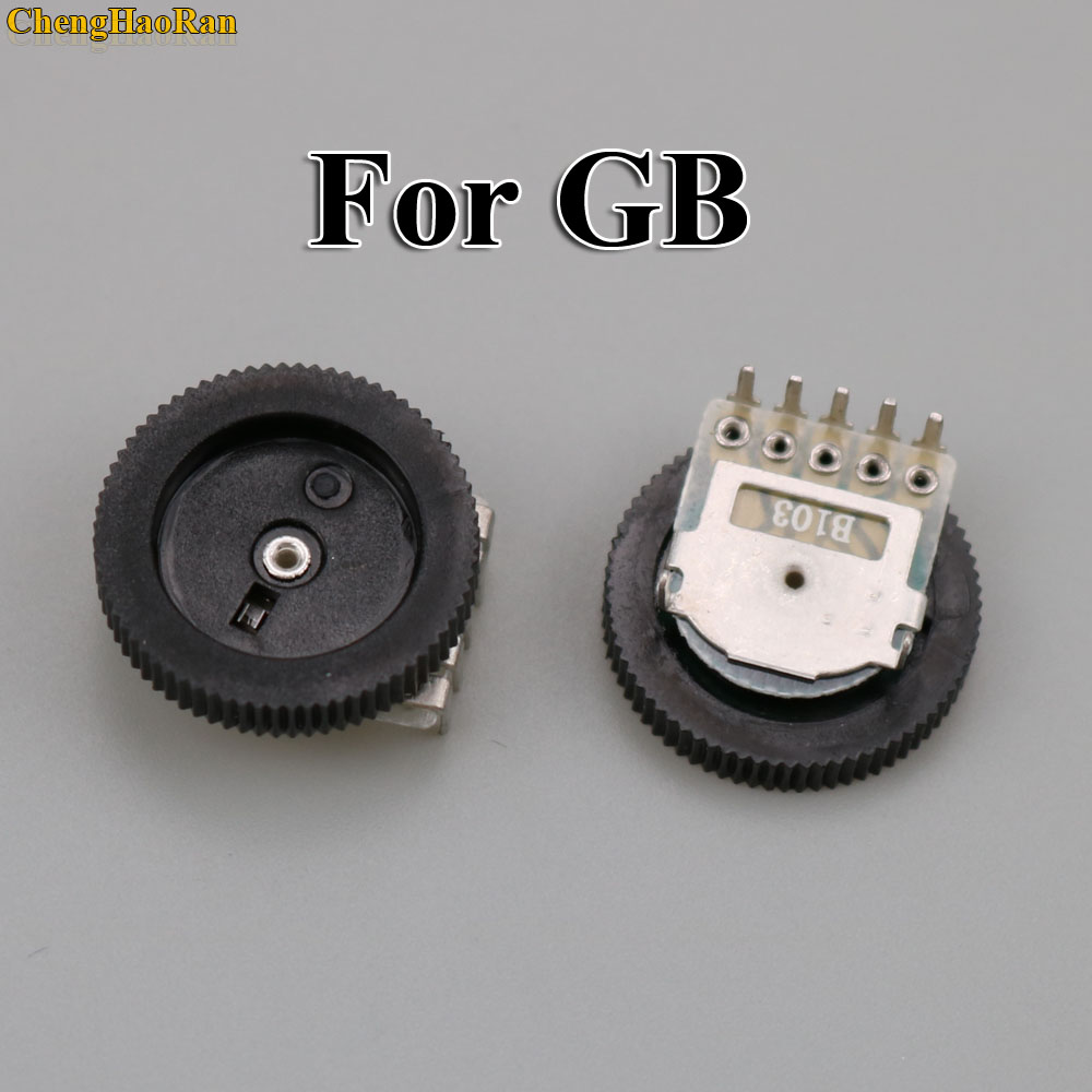 Image 2 - ChengHaoRan 2pcs Replacement For GB Classic Volume Switch for Game boy for GBA GBC Motherboard Potentiometer-in Replacement Parts & Accessories from Consumer Electronics