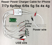 New Version Battery Activator Power Charger Supply Current Test Cable For IPhone 4 4s 5 5c