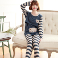 lactation woman pajamas Suit Spring and Autumn walking dress Nurse cotton Maternal postpartum Furnishing clothes