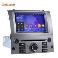 Seicane Android 7.1 7inch 1Din Car Stereo Radio GPS Navigation Multimedia Player For Peugeot 407 2004 2005 2006 2007 2008 2009