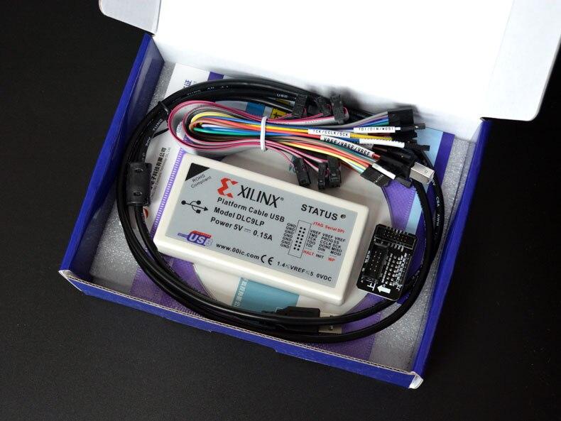 Xilinx Plate-Forme Câble USB FPGA CPLD Télécharger le débogueur Soutien le JTAG Esclave Série SPI est stable