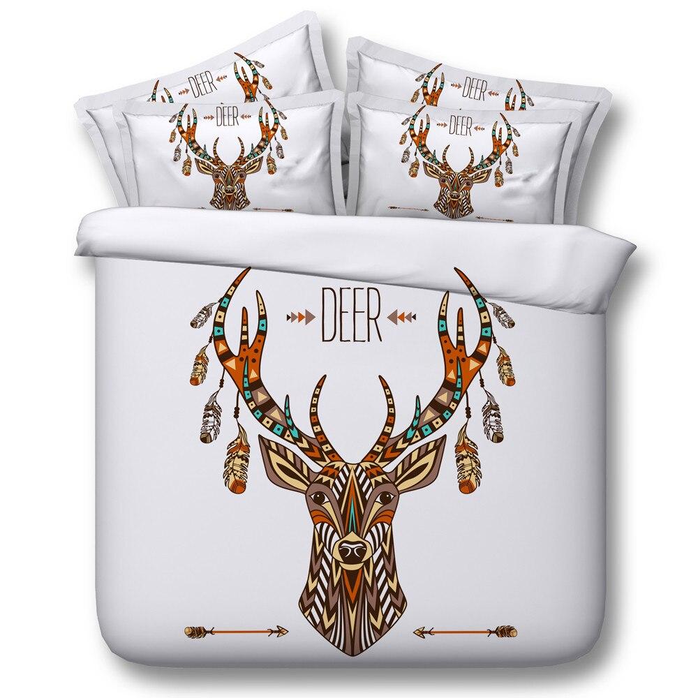 online buy wholesale kids deer bedding from china kids deer  - modern fashion kidsadult home textile  cotton d colorful deer patternduvet cover