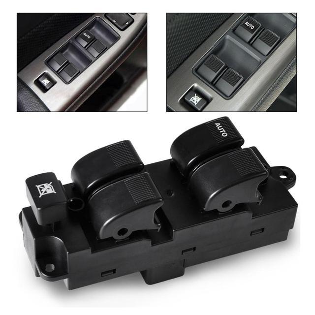 Venda quente! Plastic & metal Interruptor Principal Janela de Poder da mão esquerda Do Lado Do Motorista apto para 626 MPV 2001 2002 2003 2004 2005 2006G