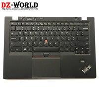 Новый/оригинальная США английская клавиатура с подсветкой для lenovo Thinkpad X1 углерода 1st 34XX w/Palmrest ободок Touchpad 00HT000 04Y0786 0C02177