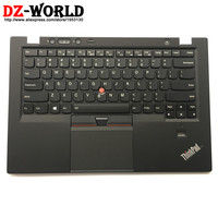 New/Orig US English Backlit Keyboard for Lenovo Thinkpad X1 Carbon 1st 34XX w/ Palmrest Bezel Touchpad 00HT000 04Y0786 0C02177