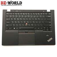 New/Orig US English Backlit Keyboard for Lenovo Thinkpad X1 Carbon 1st 34XX w/ Palmrest Bezel Touchpad 00HT000 04Y0786 0C02177