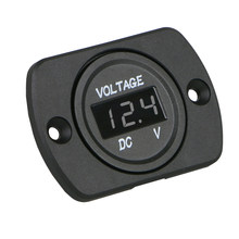Portable Battery Gauge Car Motorcycle Voltmeter Universal Easy To Use Digital Durable 12-24V Led(China)