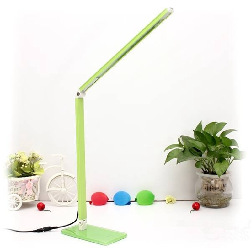 7W Adjustable Light LED Reading Study Desk Lamp Soft Eye-Protection Night Light Folding Table Lamp folding 4w led table lamp with child eye protection light desk lamp for study portable ed light with calendar alarm colck