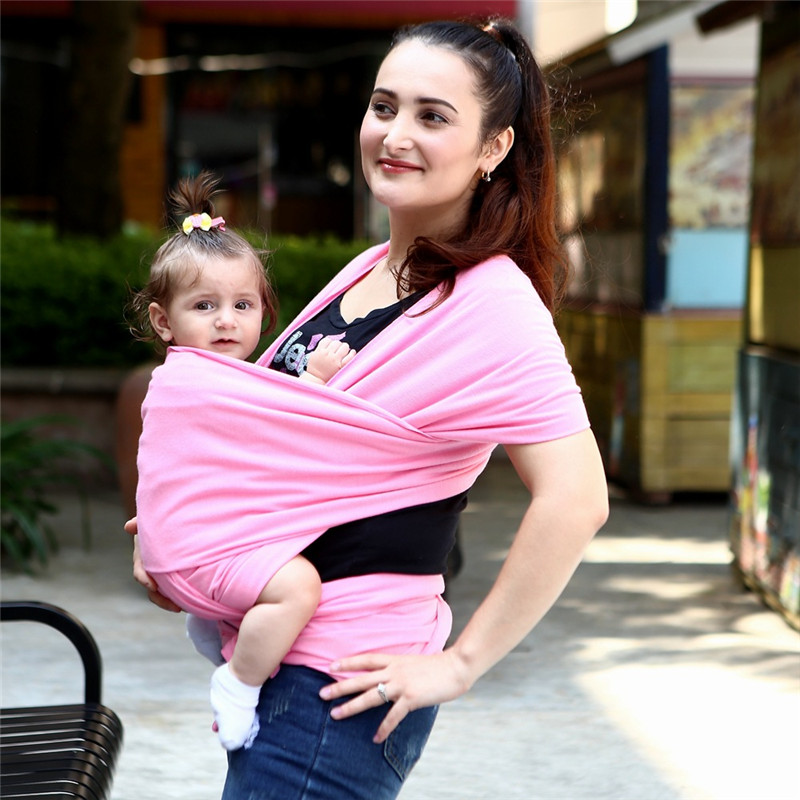 0-3 Years Baby Sling Ergonomic Baby Carrier Cover Backpack Breathable Hipseat Nursing Cover Cotton Soft Baby Wrap SKEX40