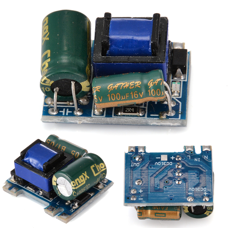 New Power Module AC-DC Converter 110V 220V 230V to 5V Isolated Switching Power Supply Board стоимость