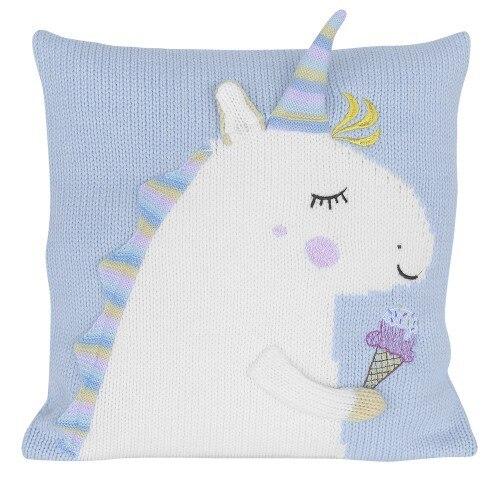 RUIYEE brand soft animal three-dimensional unicorn pillowcase child pillow cover cute pillow case decorative cushions for sofa
