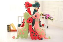cute cartoon dinosaur plush toy doll large 100cm soft throw pillow toy birthday gift h2811
