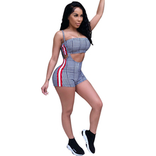 ee086f14a9e KGFIGU Sexy Two pieces women sets 2018 summer tube top and short pants sets  track suits