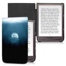 BOZHUORUI Magnetische Intelligente Abdeckung Fall für 7.8 Pocketbook 740 InkPad 3 PB740 Ereader mit Auto Wake/Sleep Mode ultradünne Abdeckung