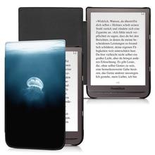 BOZHUORUI manyetik akıllı kapaklı kılıf 7.8 Pocketbook 740 InkPad 3 PB740 Ereader ile otomatik uyandırma/uyku moda ultra ince kapak