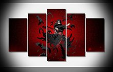 Itachi uchiha naruto anime print poster Wall Art for Home Decorations 5 pieces no frame
