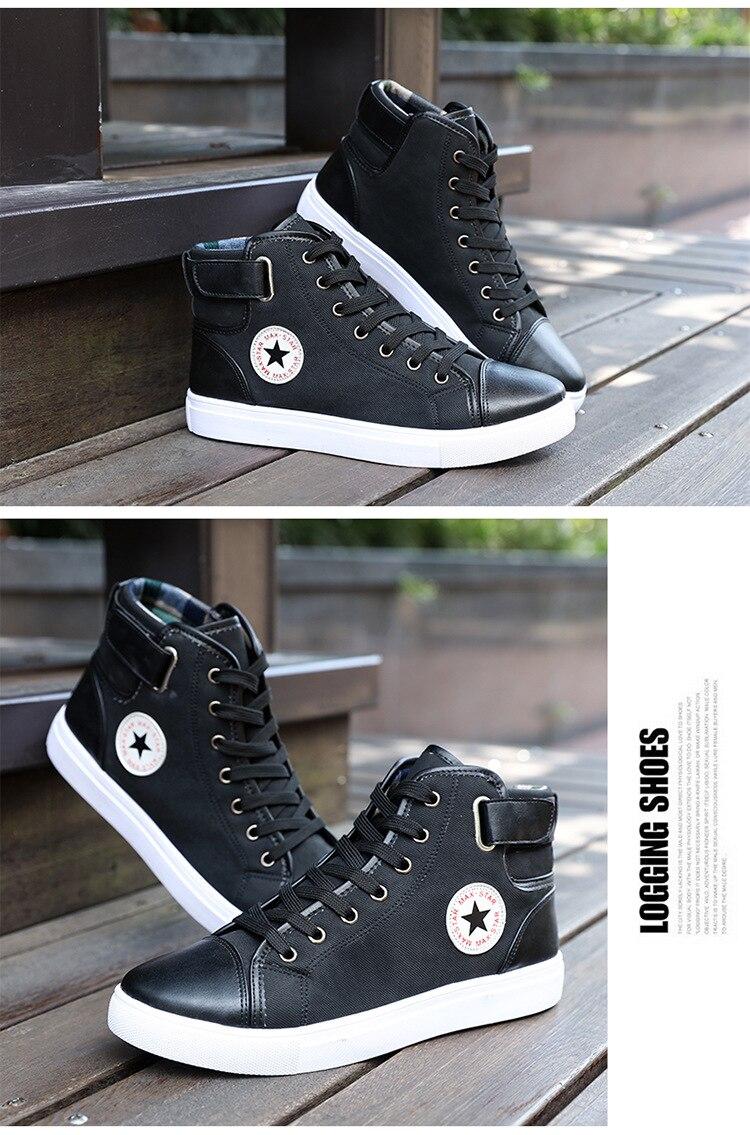tênis de alta qualidade sapatos masculinos lona