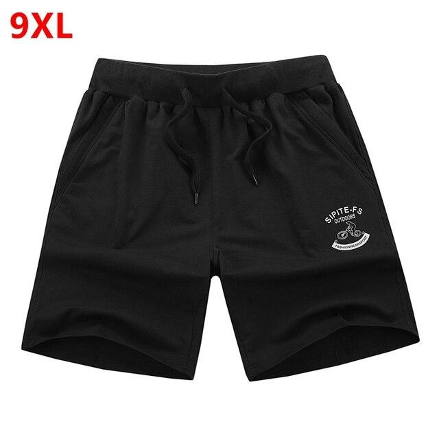 Большой размер шорты мужчины шорты для мужчин летом цветовой код Мужской фитнес мужская повседневная пятый свободные лето плюс 8XL 7XL 6XL 5XL 4XL