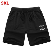 Large size shorts men shorts  for men summer color code Male Fitness Men's casual fifth loose summer plus 8XL 7XL 6XL 5XL 4XL