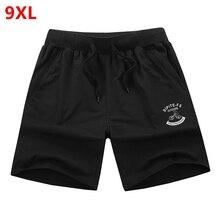 Código de cor grande tamanho dos homens shorts para homens verão Masculino quinto dos homens de Fitness casual verão solto plus size 8XL 7XL 6XL 5XL 4XL(China (Mainland))