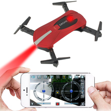 JY018 VS H37 H36 WiFi FPV Quadcopter Mini Foldable Selfie Dr
