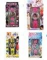 Nova 1 pcs Monster High, Kitty, elsa princesa, desprezível me relógios crianças 3D Bonito Dos Desenhos Animados Assistir com caixa de presente de Aniversário das meninas do menino Pa