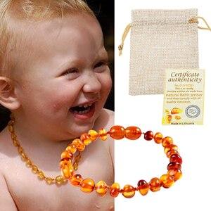 Classic 10 Colors Amber Teething Bracele