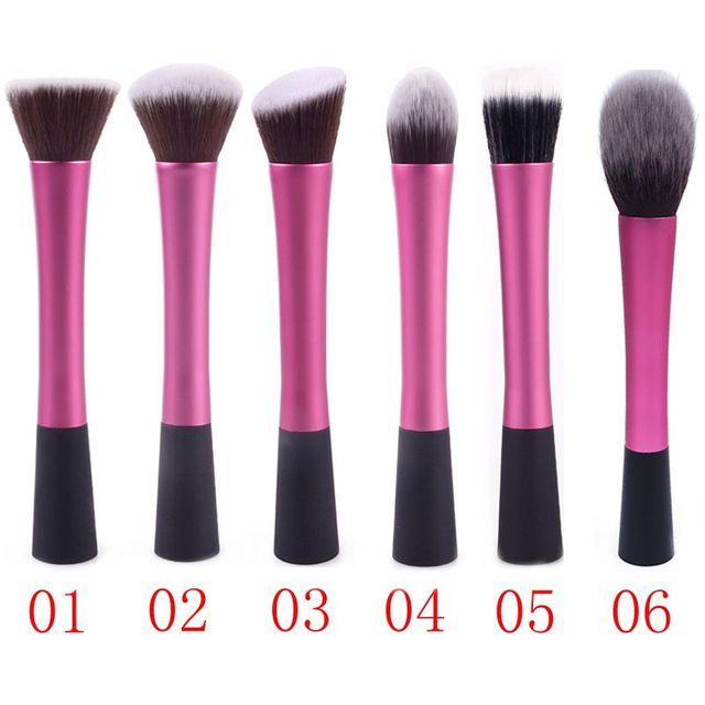 1 stks Hot Koop Professionele Make Borstels Gezichtsverzorging Poeder Blush Cosmetica Maken Borstel Gereedschap Foundation Borstel #65007