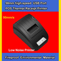 2014 Hot !  58mm usb port  high speed Thermal Receipt Pirnter  Low Noise Mini Printer pos printer Free shipping