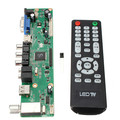 NOVO Universal LCD Placa Controladora Resolução TV Motherboard VGA/HDMI/AV/TV/USB Interface HDMI Motorista placa