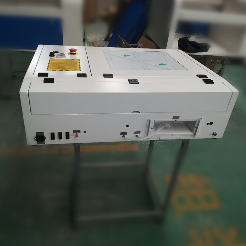 Purposeful Free Shipping To Peru By Ups 50w Co2 Laser Engraver Machine 400*400mm 440 With Square Inner Guide Rail