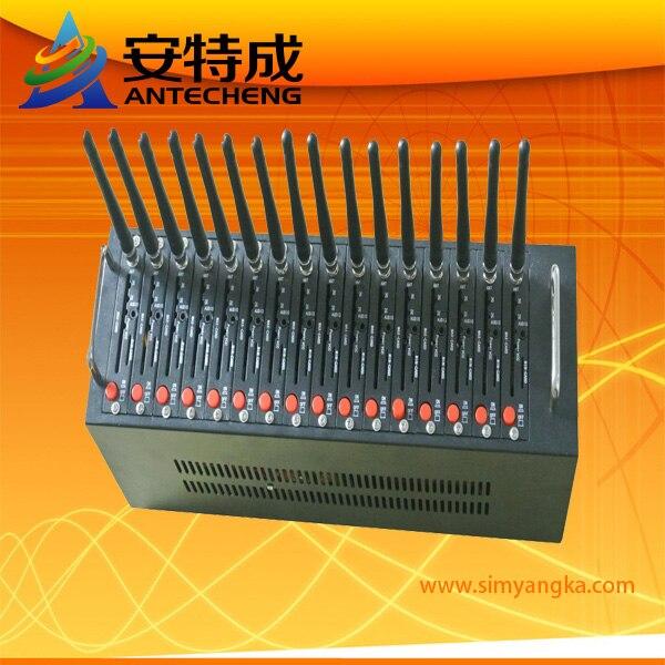 16 port modem pool Q24plus with FTP