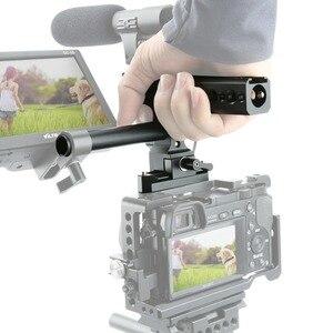 Image 5 - NICEYRIG Kamera Käfig Griff Grip NATO Schiene 15mm Rod Clamp Kalten Schuh für Sony für Panasonic für Nikon Video camcorder Stabilisierung