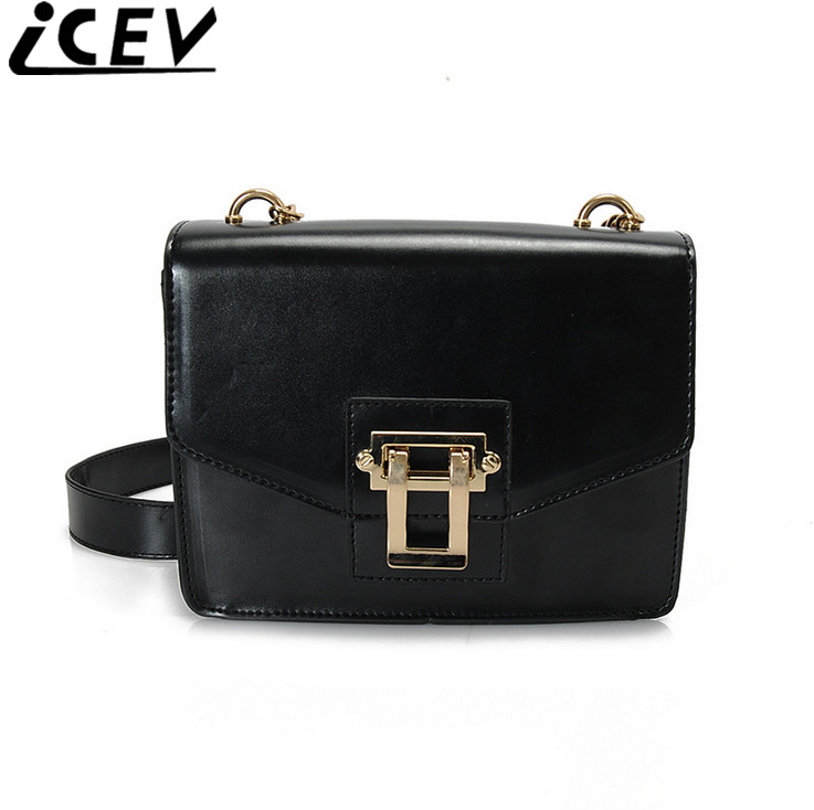 ICEV Brand 2017 summer new fashion women messenger bags small flap chain shoulder bag ladies leather designer clutch cross body игрушки для зимы gowi детская лопата 39 5 см