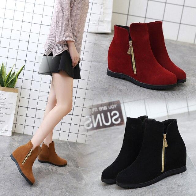 Booties Ladies Shoes botas mujer 6827