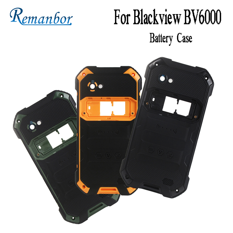 Remanbor For Blackview BV6000 Battery Case Protective Battery Back Cover Fit Replacement For Blackview BV6000 Mobile Accessories