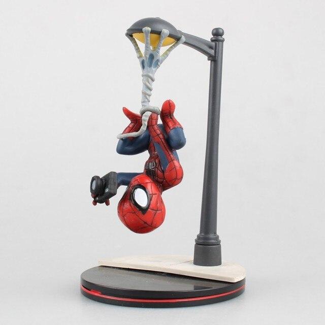 NEW hot 14 cm Vingadores homem-aranha do Regresso A Casa Cena versão action figure brinquedos Do Homem Aranha boneca de presente de Natal com caixa